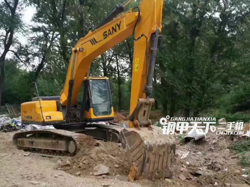 三一重工215-8s挖掘机(此设备编号:59419)01-02更新