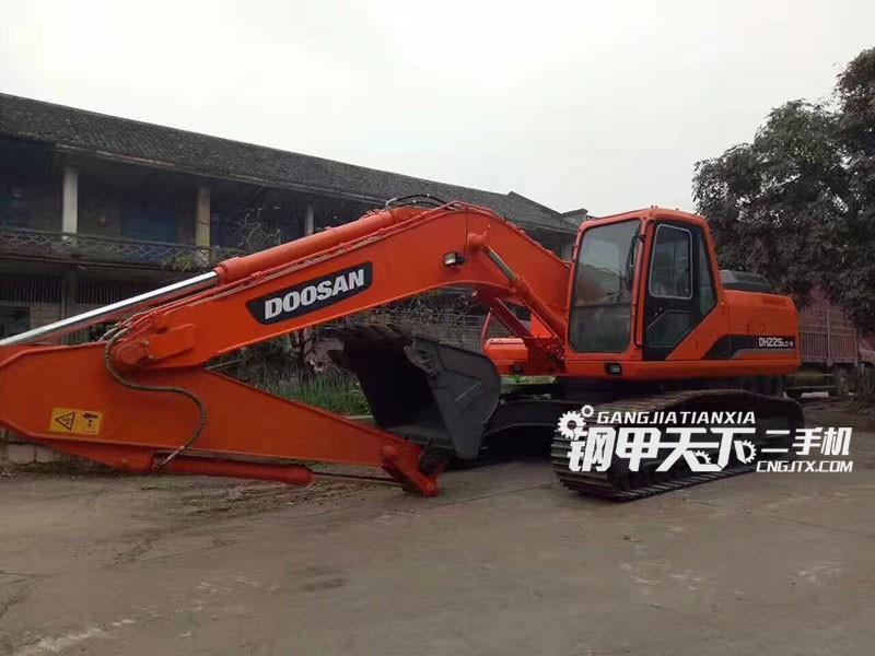 斗山dh225lc-9挖掘机(此设备编号:4287)12-07更新