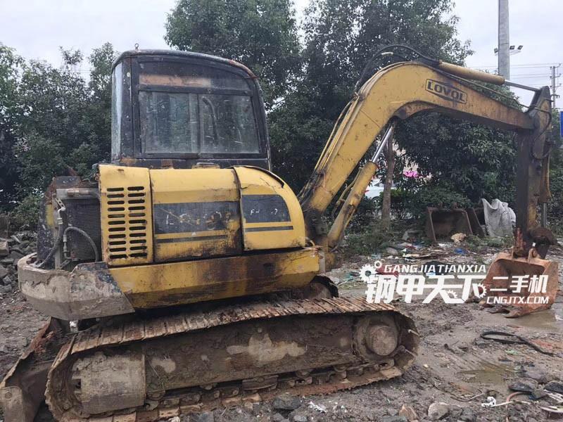 雷沃65挖掘机(此设备编号:64372)01-17更新