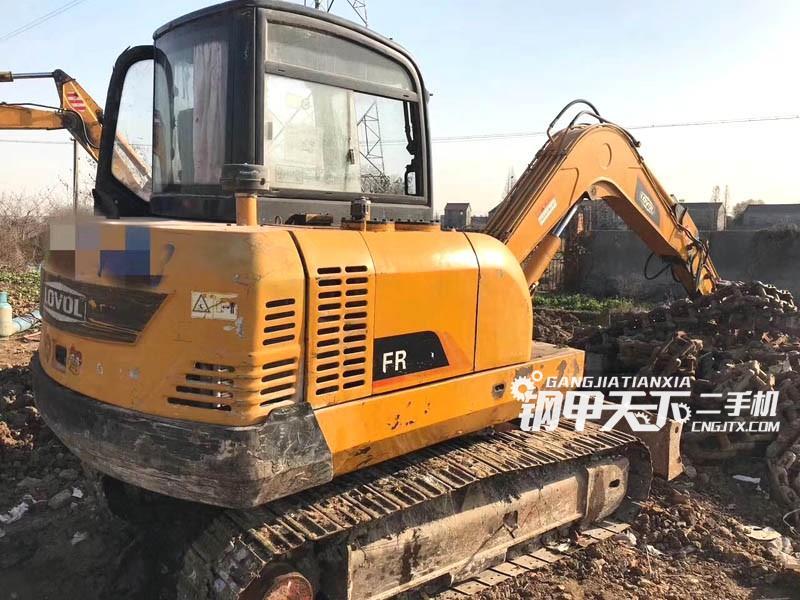 福田雷沃fr65-7挖掘机(此设备编号:61745)01-09更新