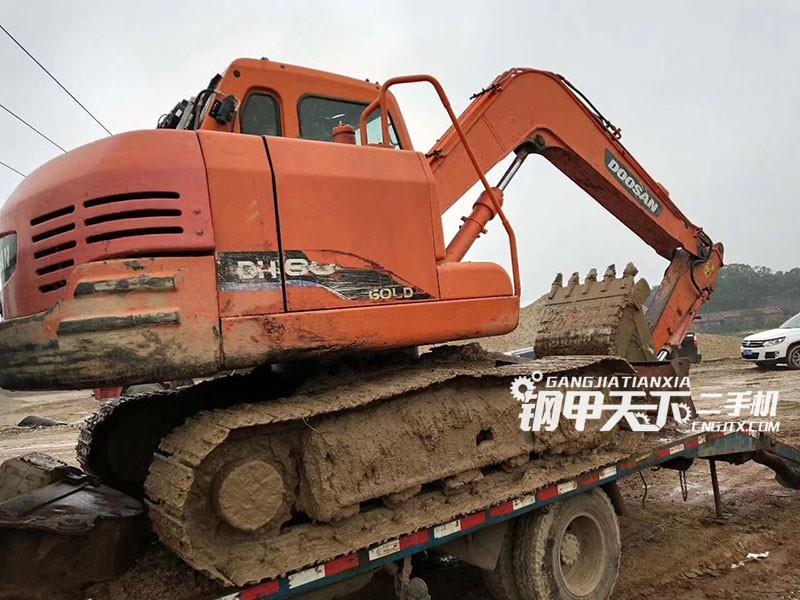 斗山dh80gold挖掘机(此设备编号:68988)02-03更新