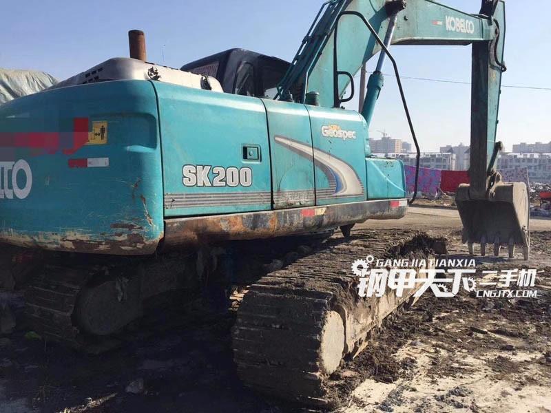 神钢200-8挖掘机(此设备编号:64333)01-17更新