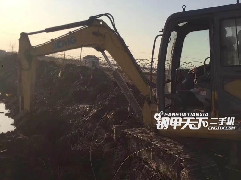徐工xe80挖掘机(此设备编号:79882)03-21更新