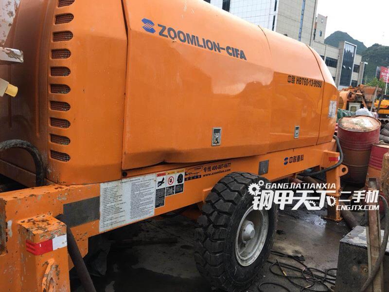 中联重科  ZLJ5391THB  泵车