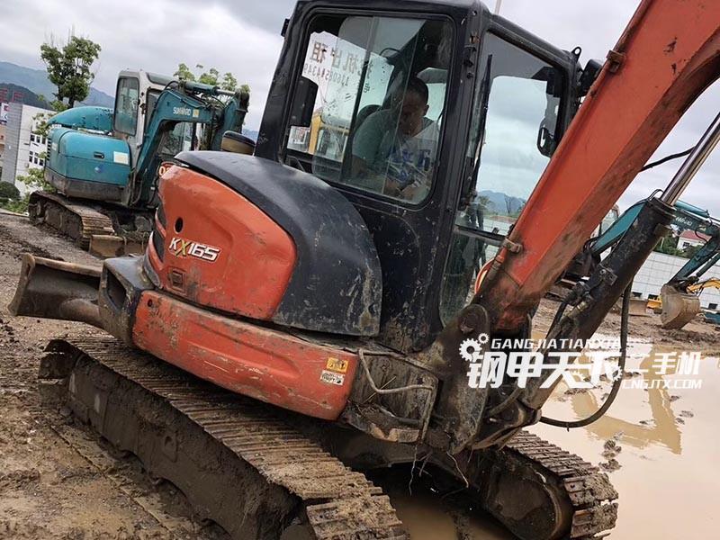 久保田KX163挖掘机