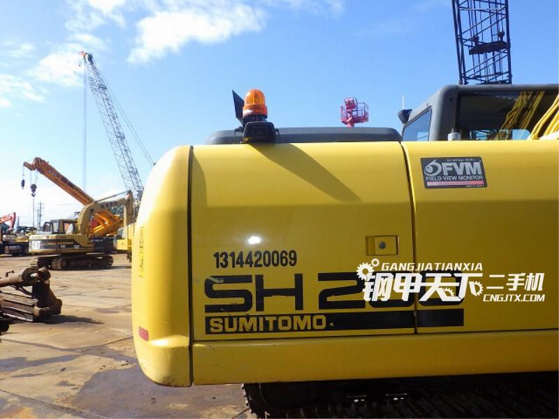 住友SH200-A5挖掘机