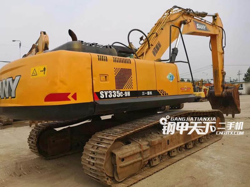 三一重工335C-9H挖掘机