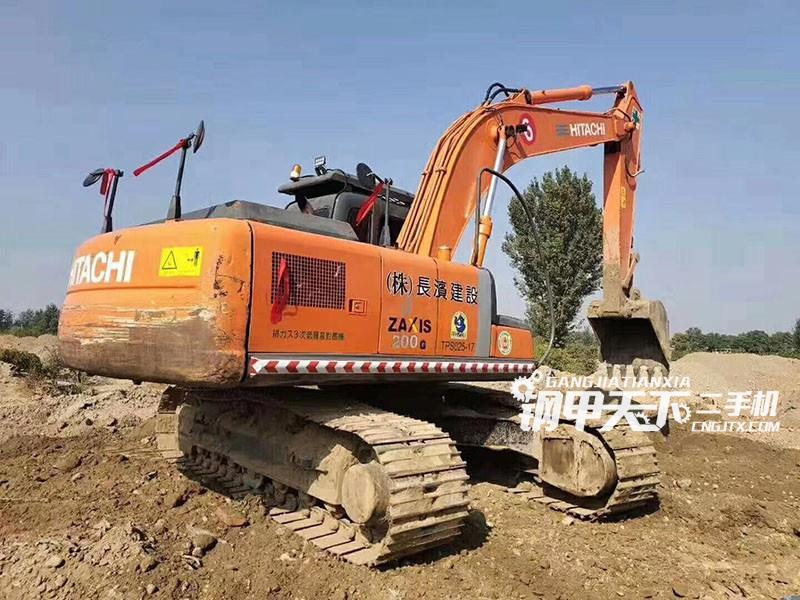 日立200-3G挖掘机