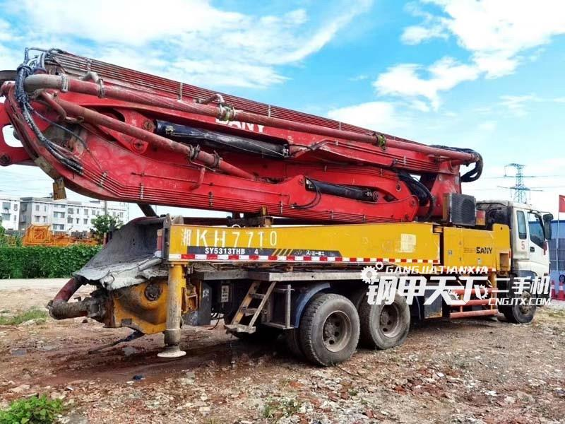 三一重工40米泵车