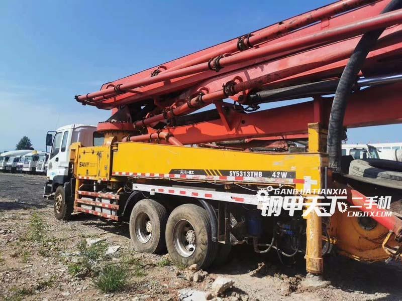 三一重工  43米  泵车