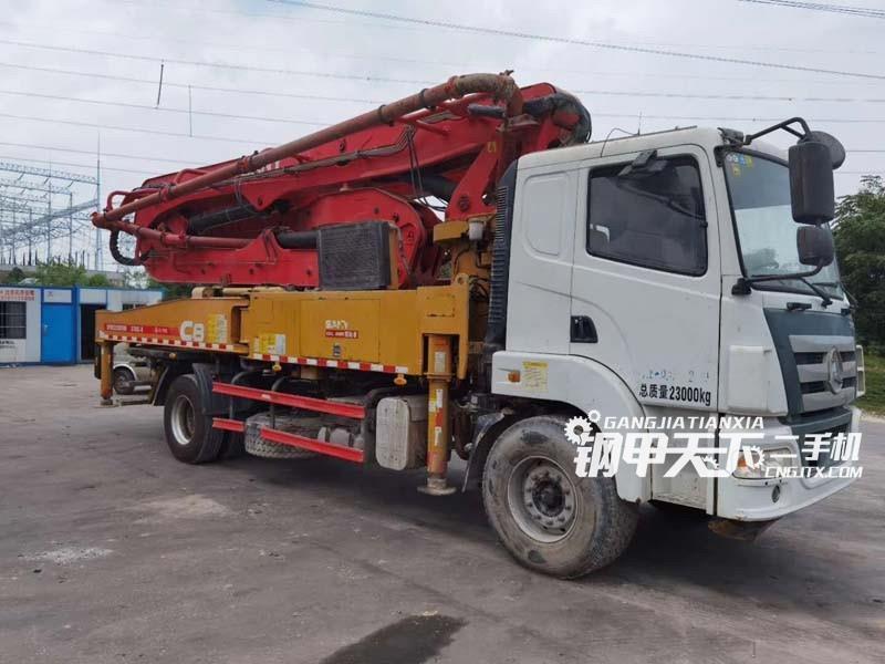 三一重工37米泵车