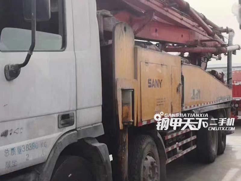 三一重工48米泵车