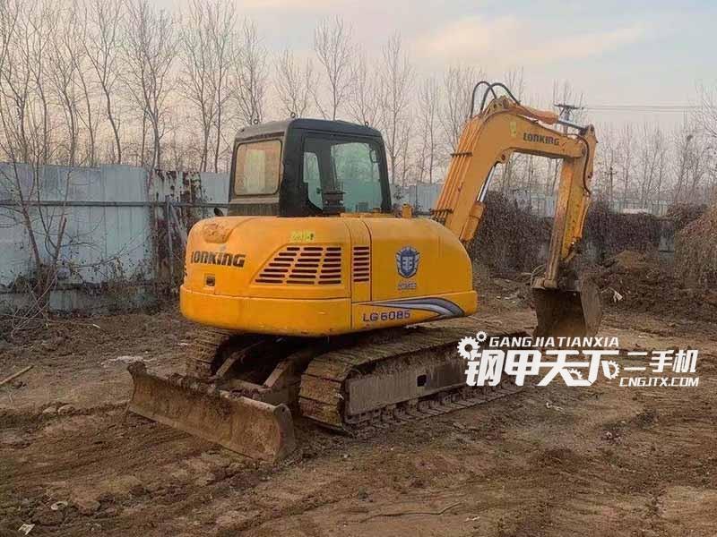 龙工85挖掘机