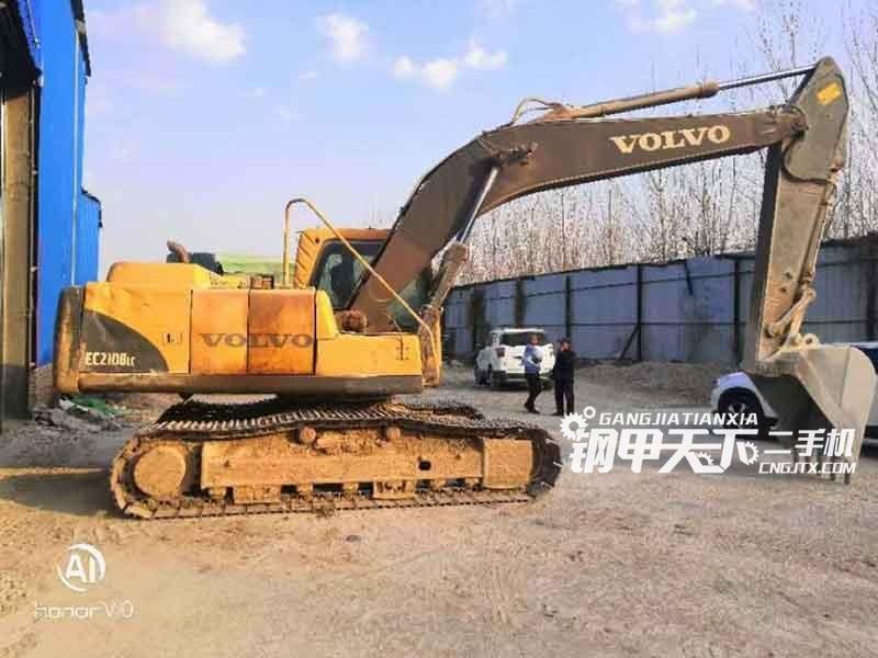 沃尔沃  210  挖掘机