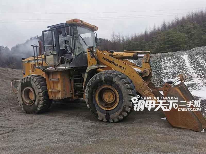 龙工  50  挖掘机