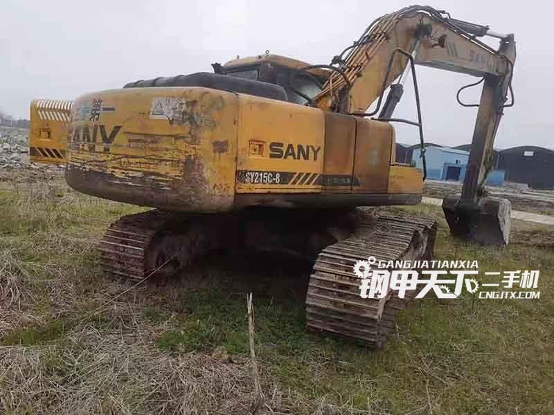 三一重工  215-8  挖掘机
