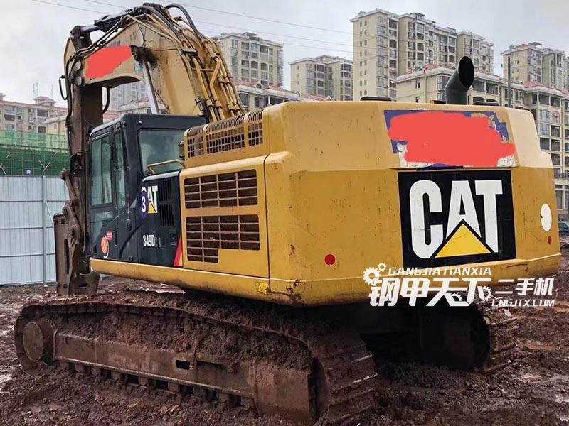 卡特彼勒  349D  挖掘机