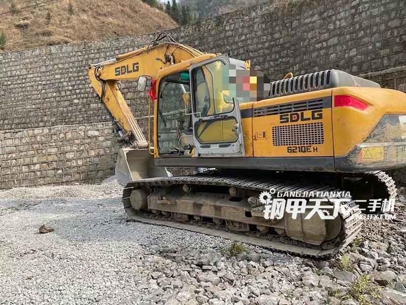 临工210挖掘机
