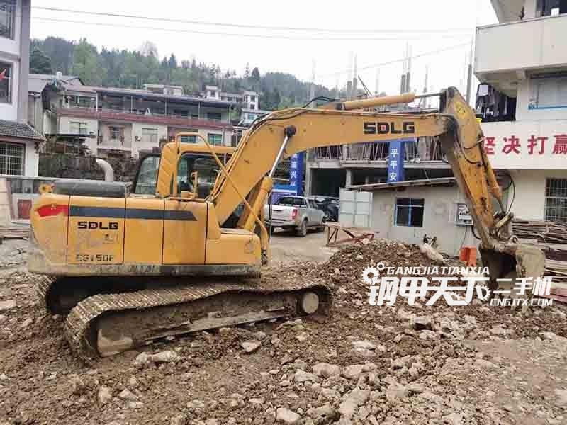 临工150挖掘机