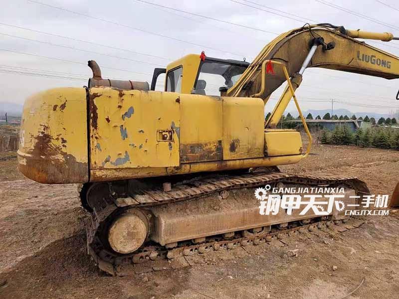 柳工  205  挖掘机