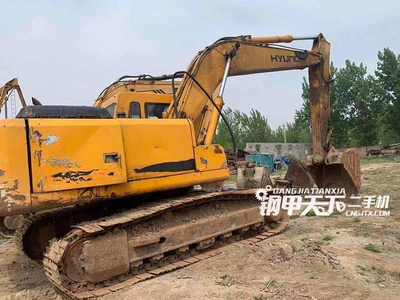 现代  215  挖掘机