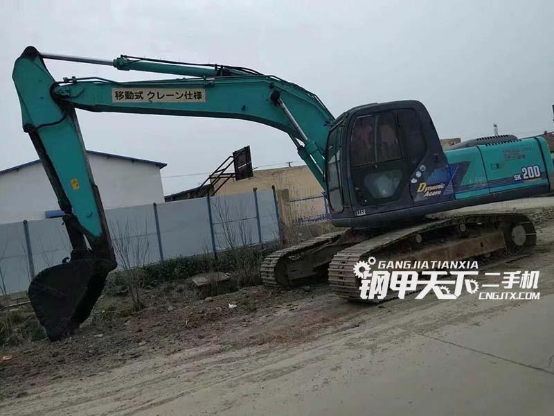 神钢  200Y-10  挖掘机