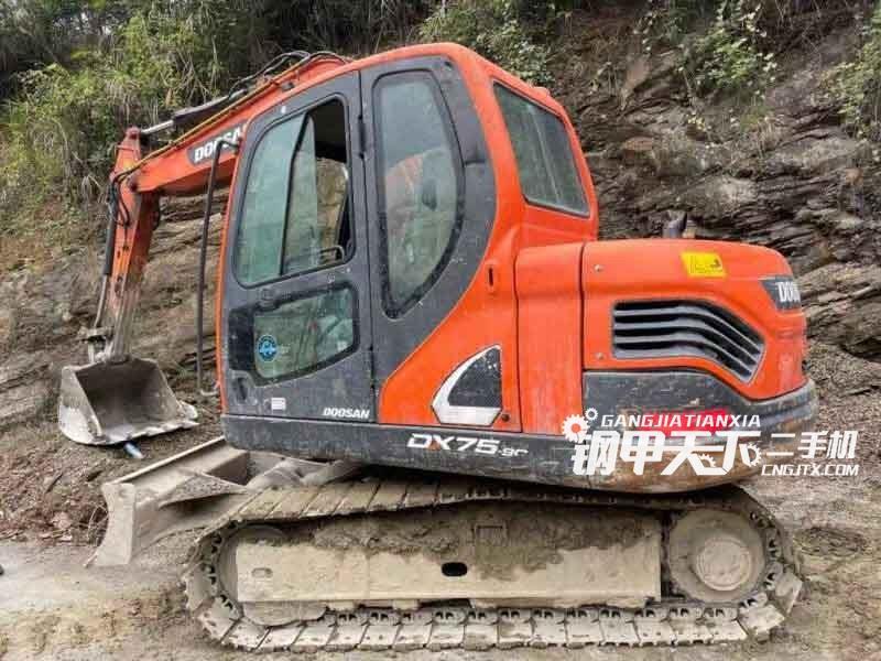 斗山  75C  挖掘机