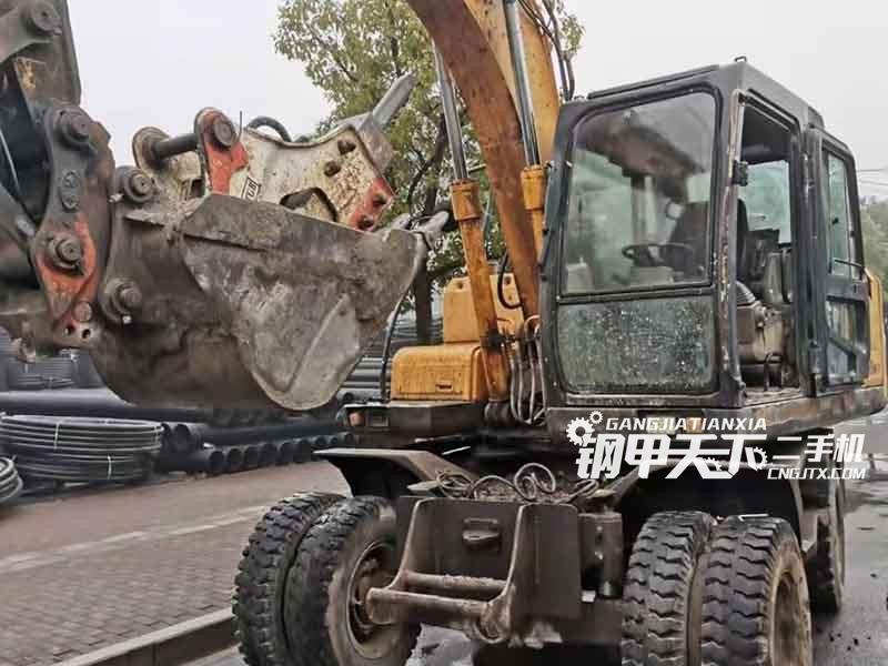 现代  150W-7  挖掘机