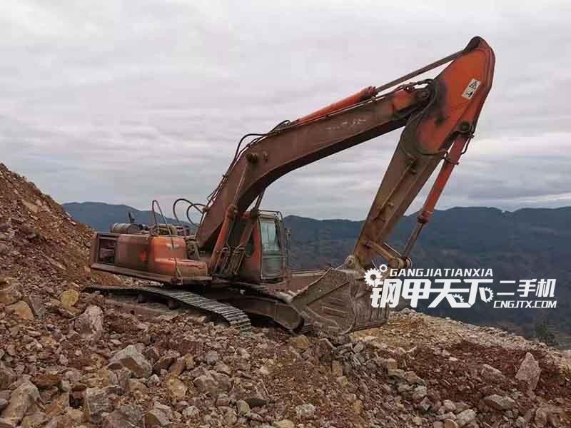 斗山  370  挖掘机