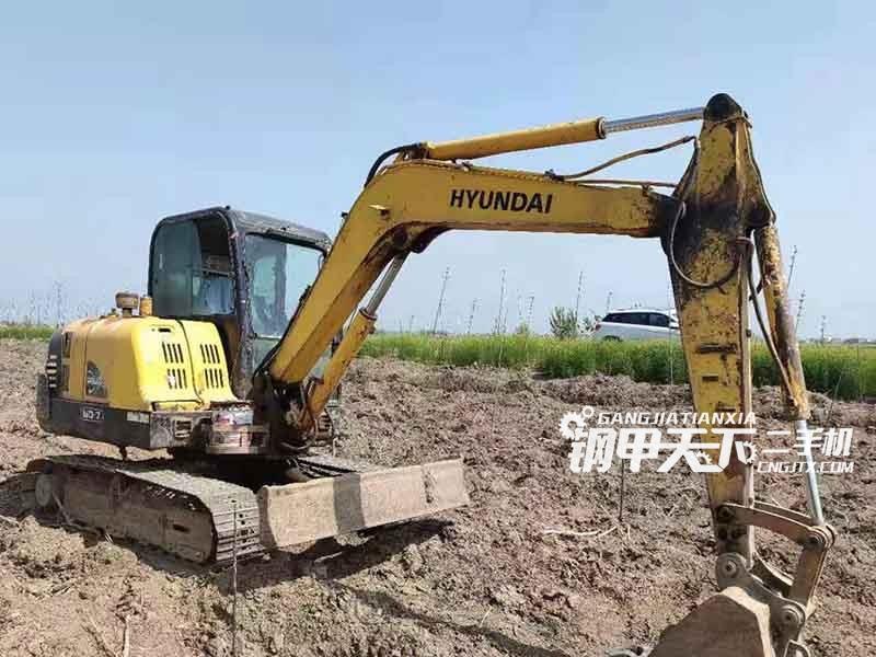 现代  60  挖掘机