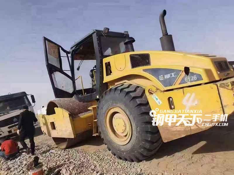 柳工  26吨  压路机