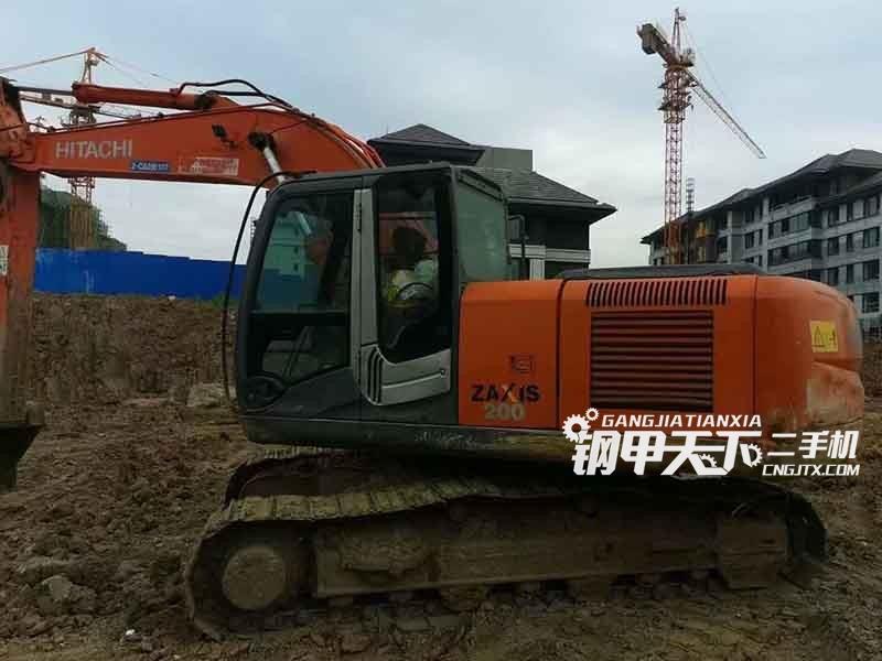 日立  200-3  挖掘机