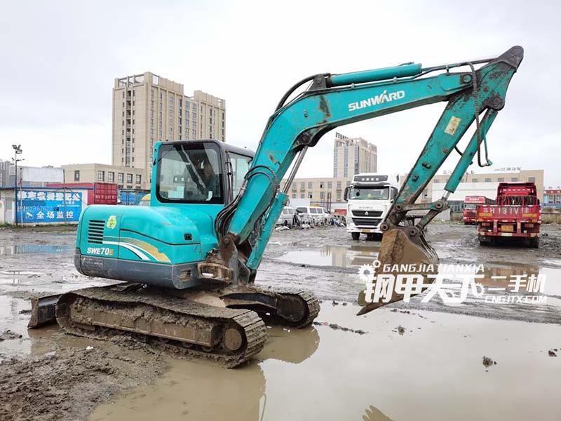 山河智能  70  挖掘机