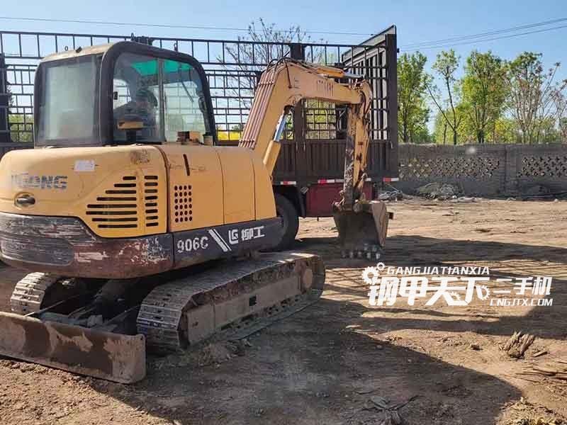 柳工  906c   挖掘机