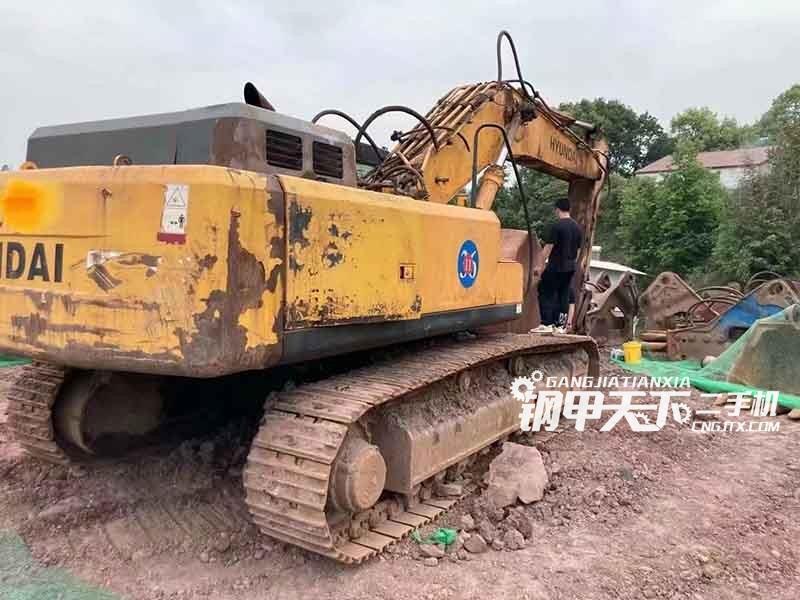 现代  455-7  挖掘机