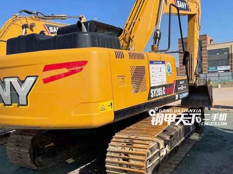 三一重工  205-10  挖掘机
