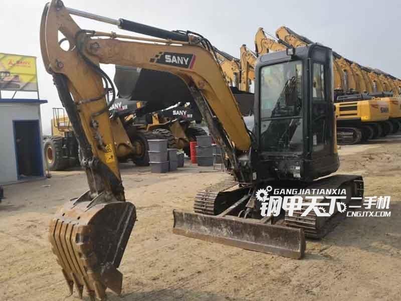 三一重工  55U  挖掘机