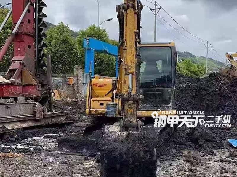山重建机  75  挖掘机