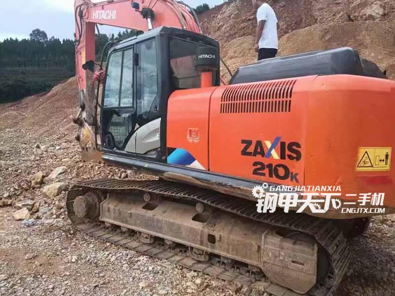 日立  210  挖掘机