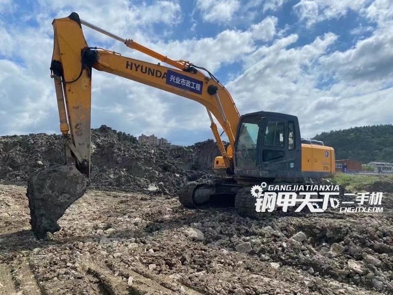 现代  215-7S  挖掘机